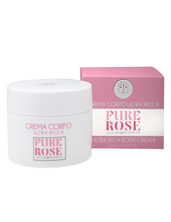 Erbario Toscano Ultra Rich Body Cream Pure Rose 200 ml