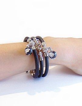 Venezia Classica Bracelet Tuscany Blacksilver