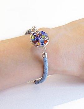 Venezia Classica Bracelet Murrine Blue