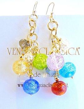 Venezia Classica Earings Cadoro White