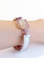 Venezia Classica Bracelet Kate Ametistasilver Murano Glass