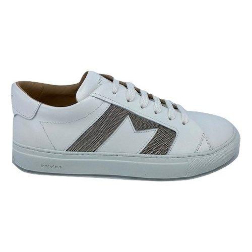 Mym MyM Goldy Metallo Bianco M