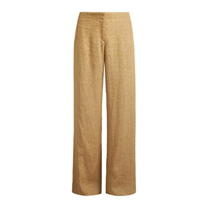 Zenggi Zenggi linen delave pants