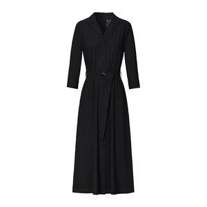 Trvl Drss Trvl Drss waisted shirt dress black