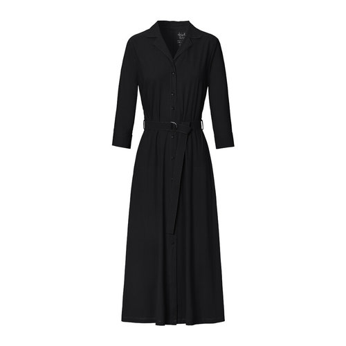 Trvl Drss Trvl Drss waisted shirt dress black