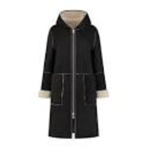 Goosecraft GOOSECRAFT Adelyn coat black with almond