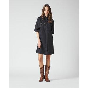 Manila Grace Manila Grace SHORT DRESS black