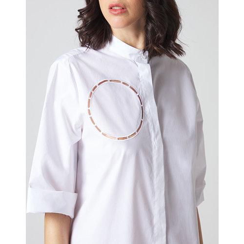 Manila Grace Manila Grace SHORT DRESS white
