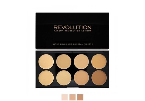 Makeup Revolution Cover and Concealer Palette