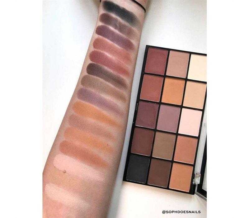 Makeup Revolution Re-Loaded Palette Basic Mattes