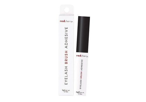 Red Cherry Eyelash Brush Adhesive Clear
