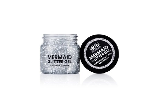BOD Body on Demand Mermaid Body Glitter Gel Silver