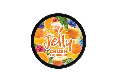 W7 Cosmetics Jelly Crush Lip Scrub Outrageous Orange