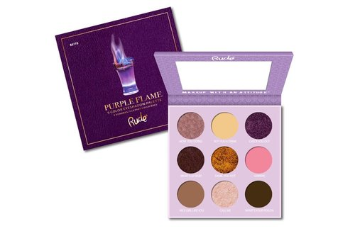 Rude Cosmetics Eyeshadow Palette Purple Flame