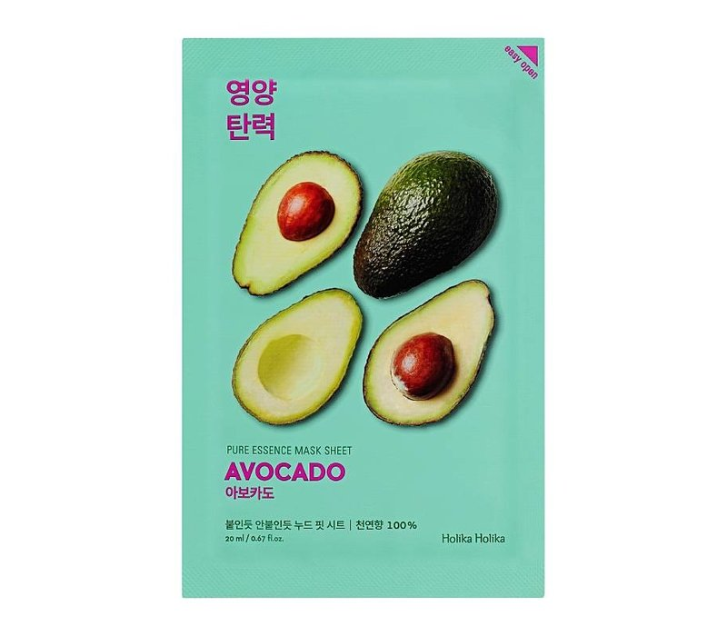 Holika Holika Pure Essence Mask Sheet Avocado