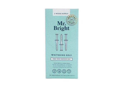 Mr. Bright Whitening Gel Refills