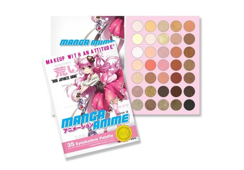 Rude Cosmetics Manga Anime Eyeshadow Palette