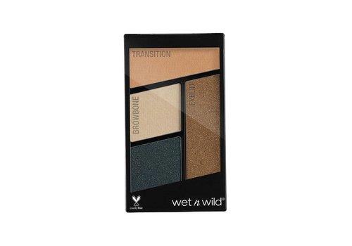 Wet n Wild Color Icon Eyeshadow Quad Hooked on Vinyl