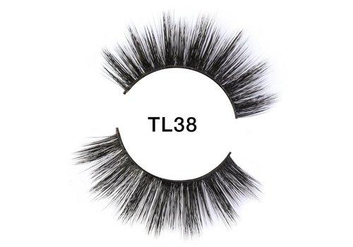 Tatti Lashes 3D Brazilian Silk Hair TL38