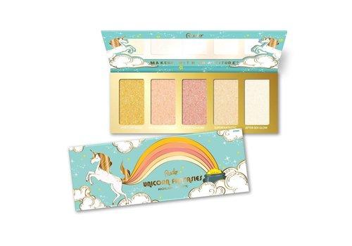 Rude Cosmetics Unicorn Fantasies Highlight palette