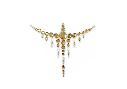 In Your Dreams Jewelled Chestpiece Golden Valley