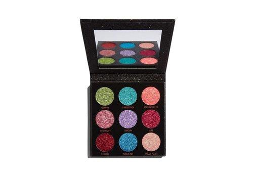 Makeup Revolution Pressed Glitter Palette Abracadabra