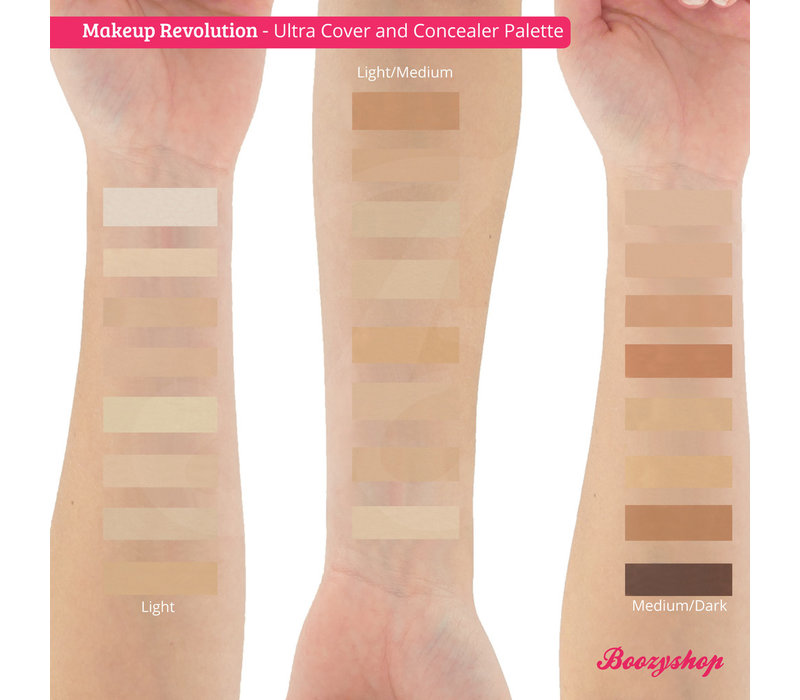 Makeup Revolution Ultra Cover and Concealer Palette