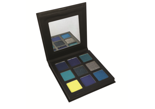 Technic Pressed Pigment Eyeshadow Palette Captivated