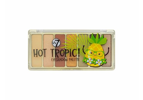W7 Cosmetics Hot Tropic Eyeshadow Palette