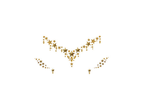 In Your Dreams Face Gems & Eye Jewels Gold Astra