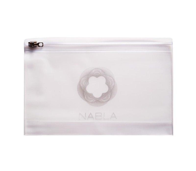 Nabla Makeup Bag Opal Plastic with Zipper