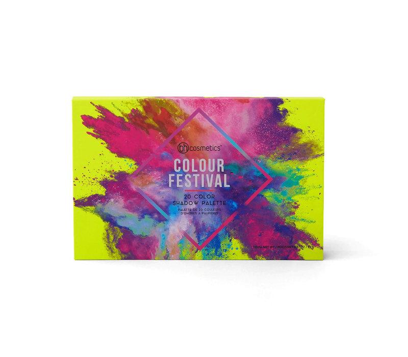 BH Cosmetics Colour Festival Eyeshadow Palette