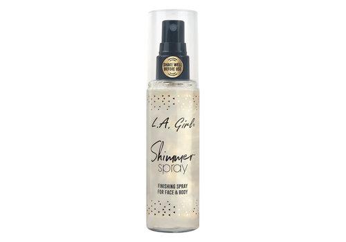 LA Girl Shimmer Spray Gold
