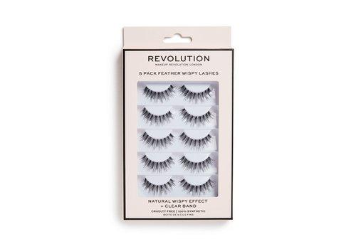 Makeup Revolution Wispy Lashes 5-Pack