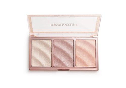 Makeup Revolution Precious Stone Highlighter Palette Rose Quartz