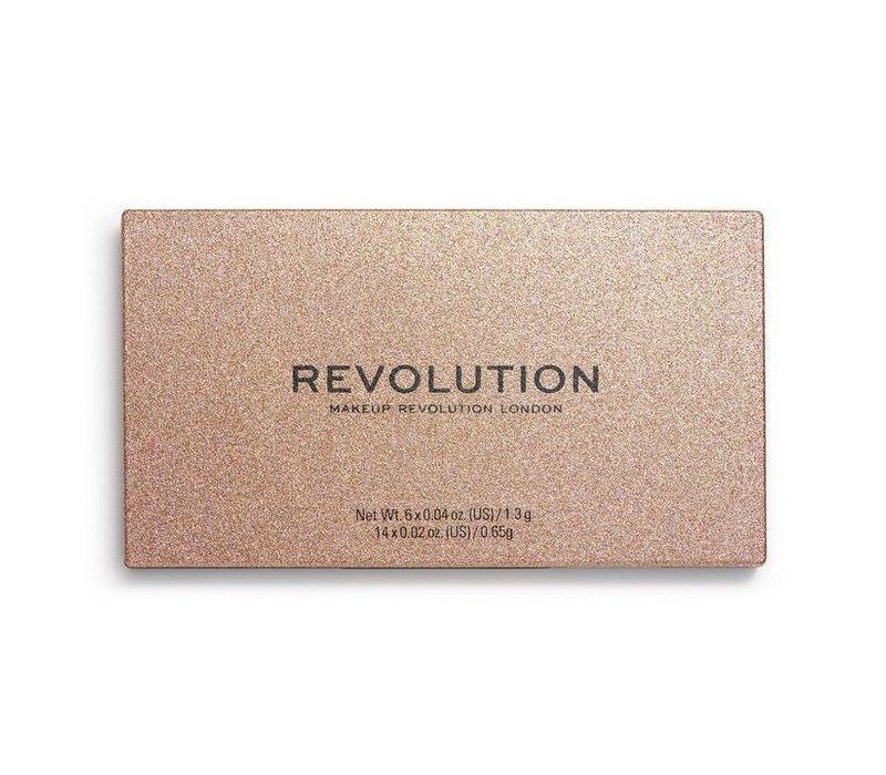 Makeup Revolution Precious Stone Shadow Palette Rose Quartz