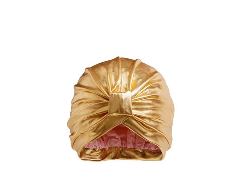 Styledry Disco Made Me Do It Turban Shower Cap Goldie
