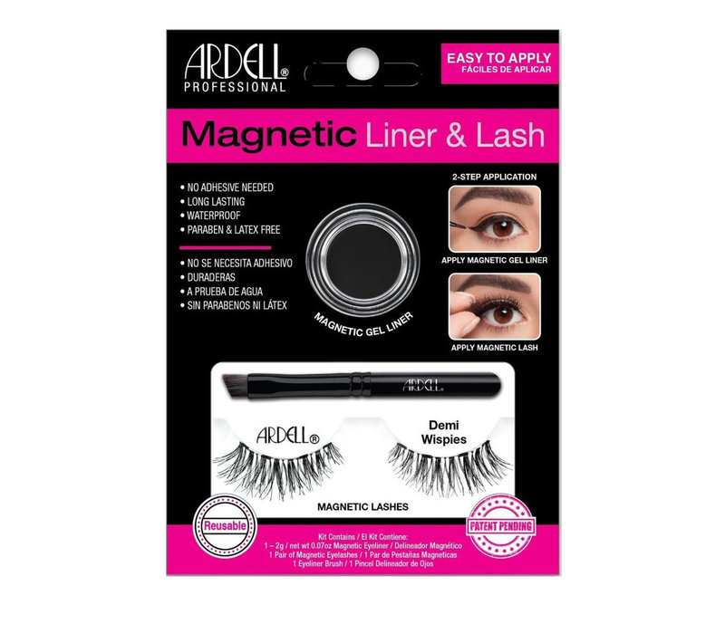 Ardell Lashes Magnetic Lash & Liner Demi Wispies