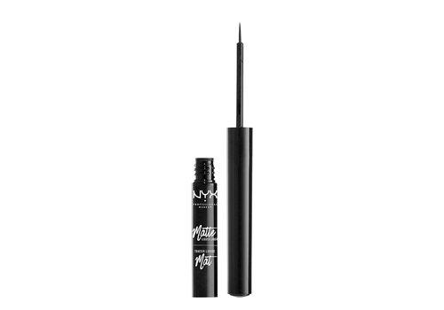 NYX Professional Make Up Matte Liquid Liner Black