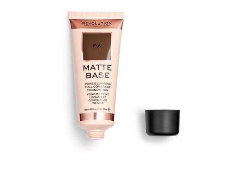 Makeup Revolution Matte Base Foundation F16