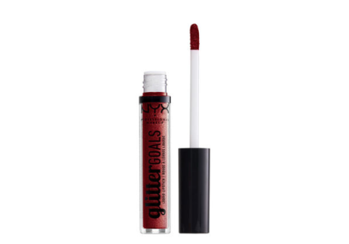 NYX Professional Make Up Glitter Goals Liquid Lipstick Crystal Crush