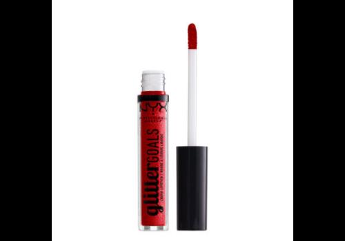 NYX Professional Makeup Glitter Goals Liquid Lipstick Cherry Quartz