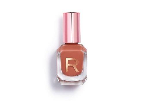 Makeup Revolution High Gloss Nail Polish Caramel