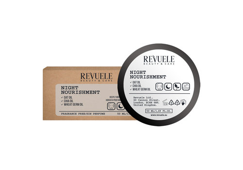 Revuele Vegan & Organic Night Nourishment