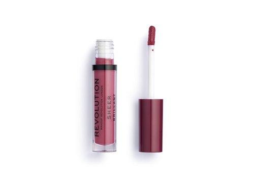 Makeup Revolution Sheer Lipgloss 118 Rosé