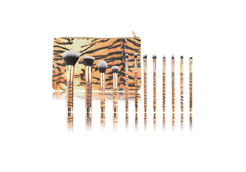 Boozyshop 12 pc. Brush Set Tiger