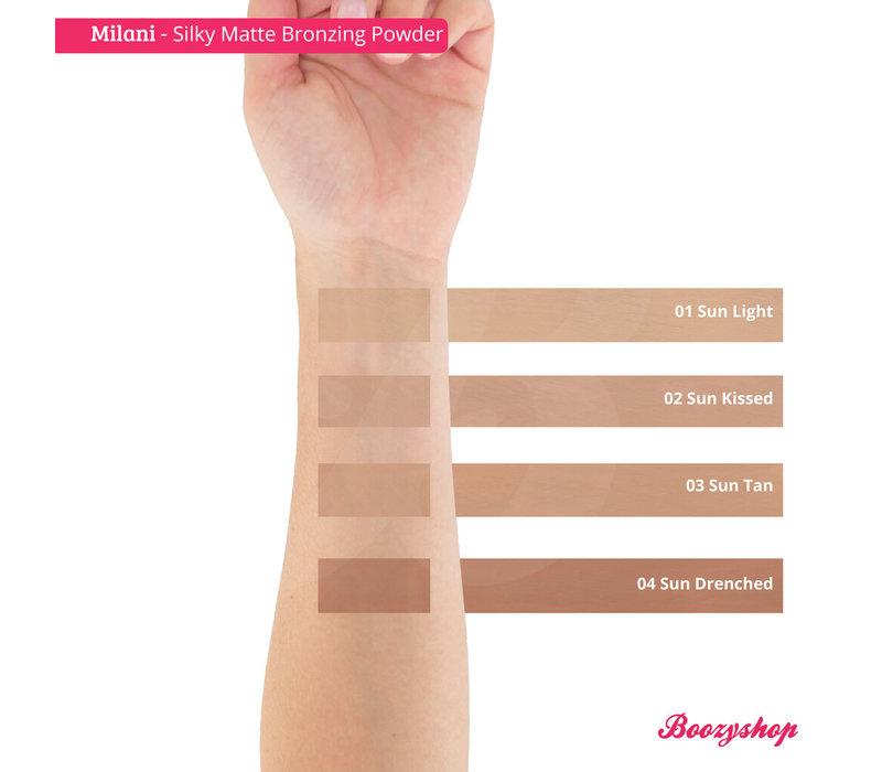 Milani Silky Matte Bronzing Powder 03 Sun Tan