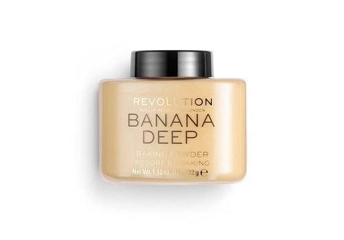 Makeup Revolution Loose Baking Powder Banana Deep