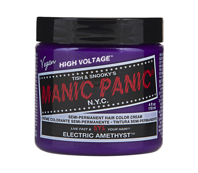 Manic Panic Classic High Voltage Semi-Permanent Hair Colour Electric Amethyst