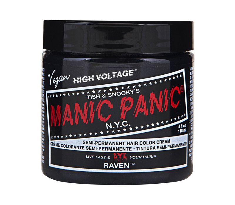 Manic Panic Classic High Voltage Semi-Permanent Hair Colour Raven